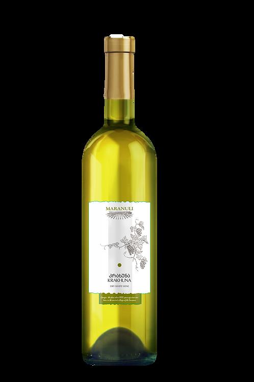 Krakhuna, dry white wine, Imereti, amber wine, Georgian wines