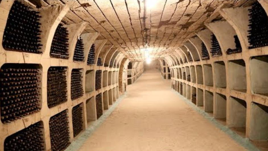 Mileștii Mici Moldovan Winery Wine Cellar