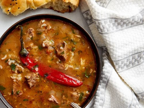 Kharcho, Georgian dish, georgian food