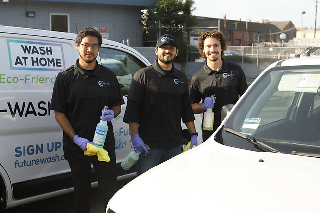 Future Wash is headquartered is San Jose, California. We currently serve the greater Bay Area and are growing rapidly.