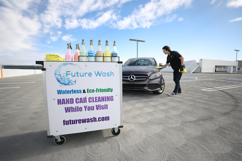 Waterless, eco-friendly car wash. The #1 waterless option in San Jose.