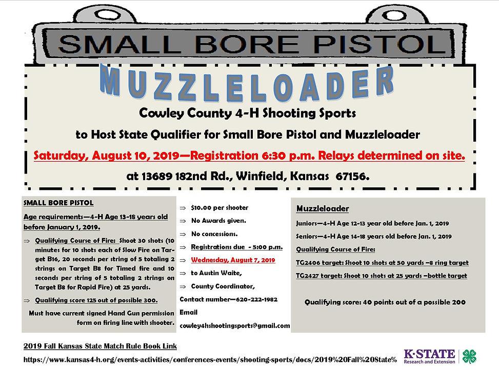 2019 SB Pistol MUZZLELOADER Bulletin - C