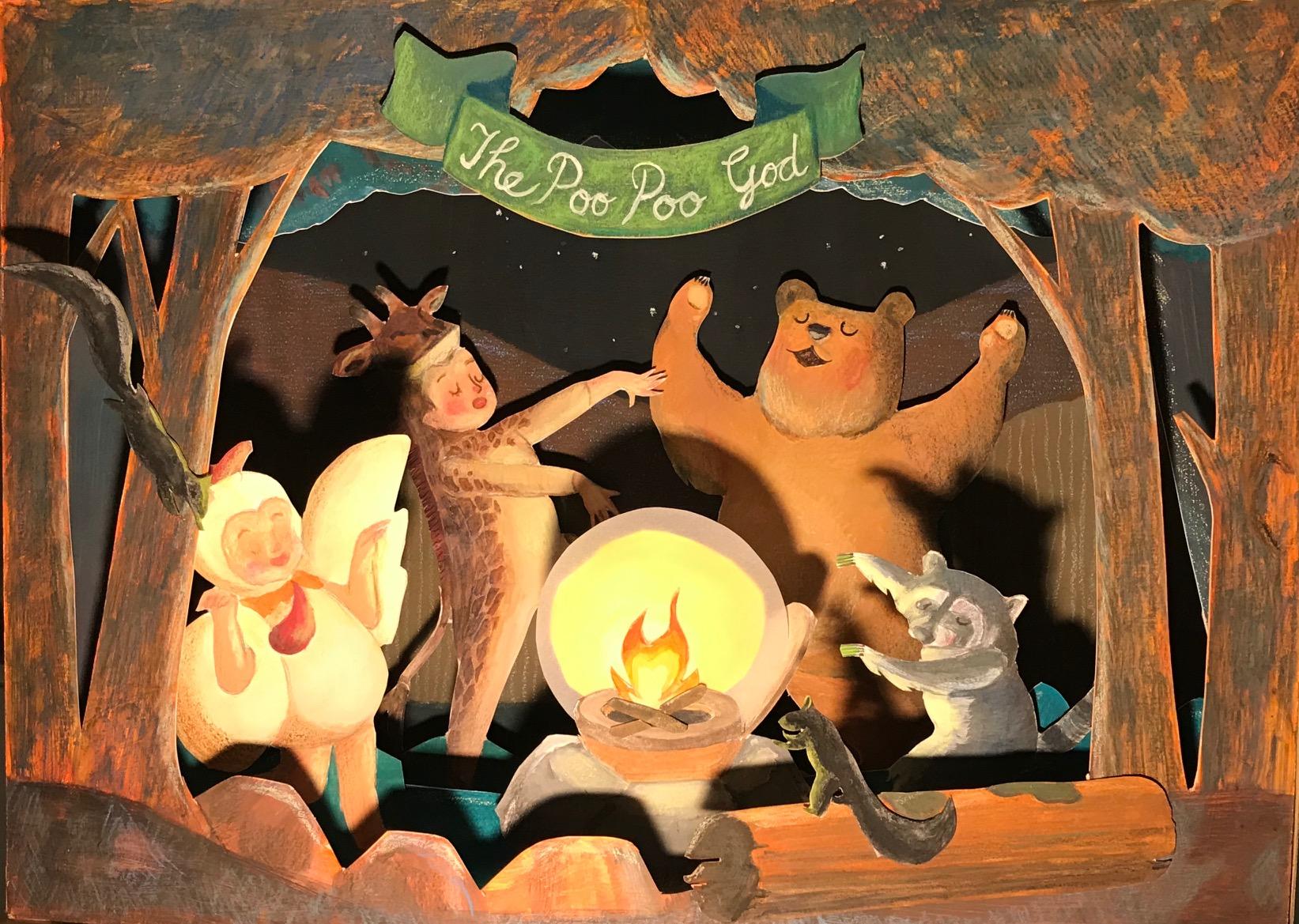 """The Poo Poo God"""
