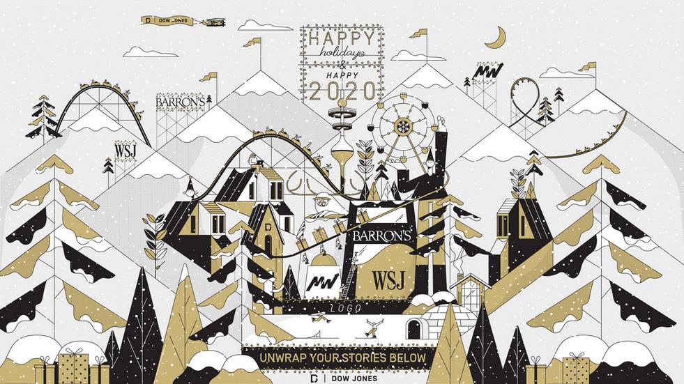 Dow Jones Christmas Card 2019
