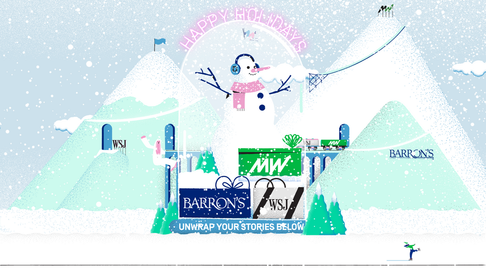 DOW JONES - Christmas Card