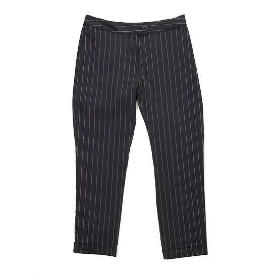 cotelac stripe crop pant