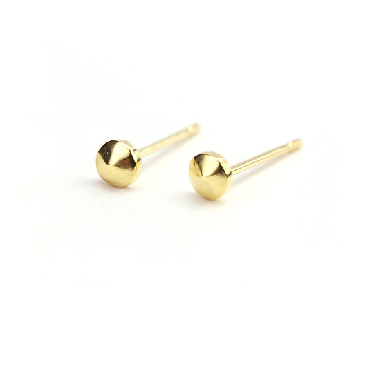Diana Mitchell Solid Nugget Studs