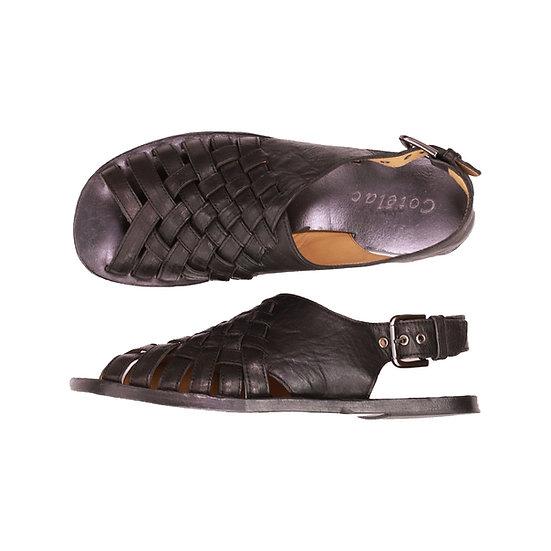 Cotelac Woven Strap Back Sandal