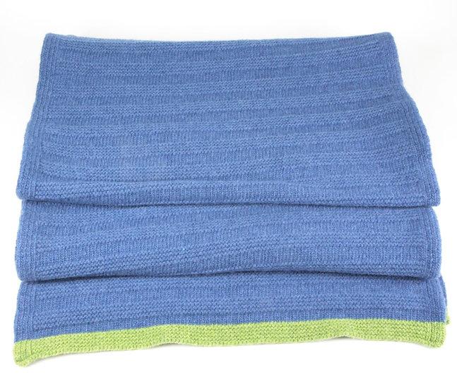 Katie Mawson garter stitch scarf
