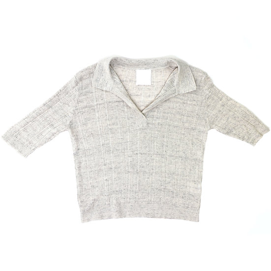 mj watson short sleeve knit sweater
