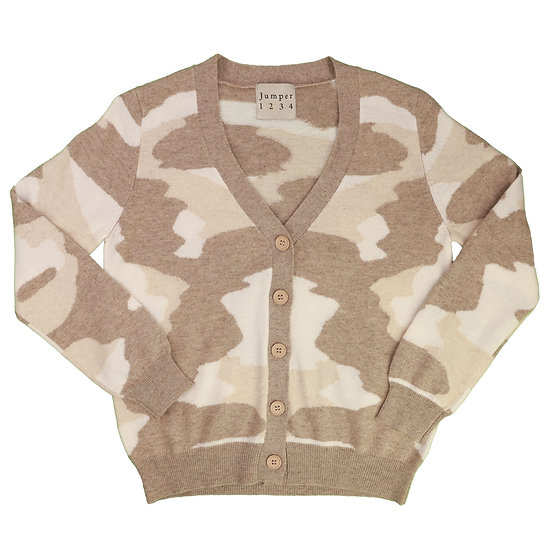 jumper 1234 summer camouflage cashmere cardigan