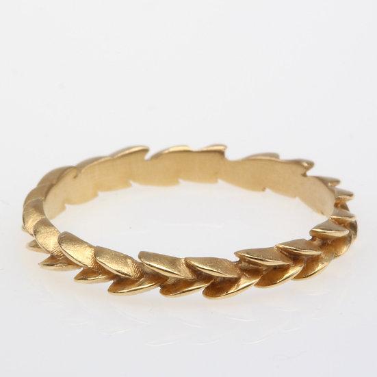 Megan Thorne 18k Gold Ivy Ring