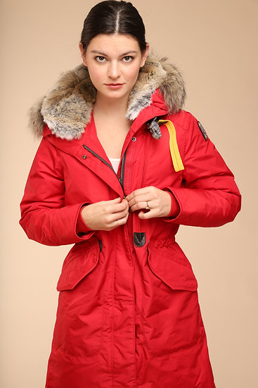 PARAJUMPERS TANK COAT RED
