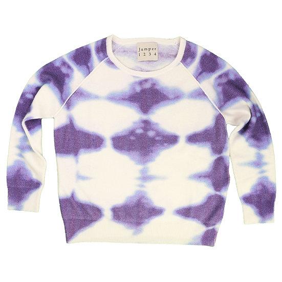 jumper 1234 shrunken tie-dye sweatshirt