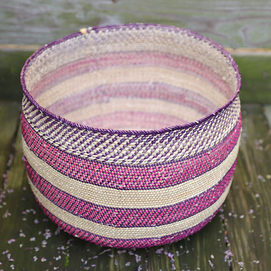 Fahari Tanzania Iringa Basket Multi Color