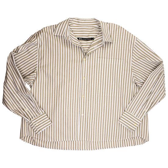 Nicholson & Nicholson Oversized Khaki Hope Shirt