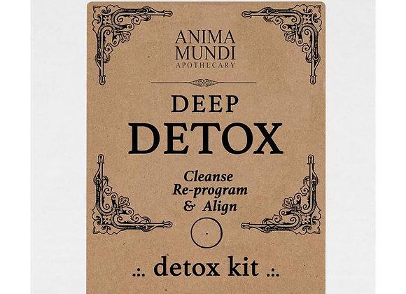 DEEP DETOX Kit : Herbal Cleanse