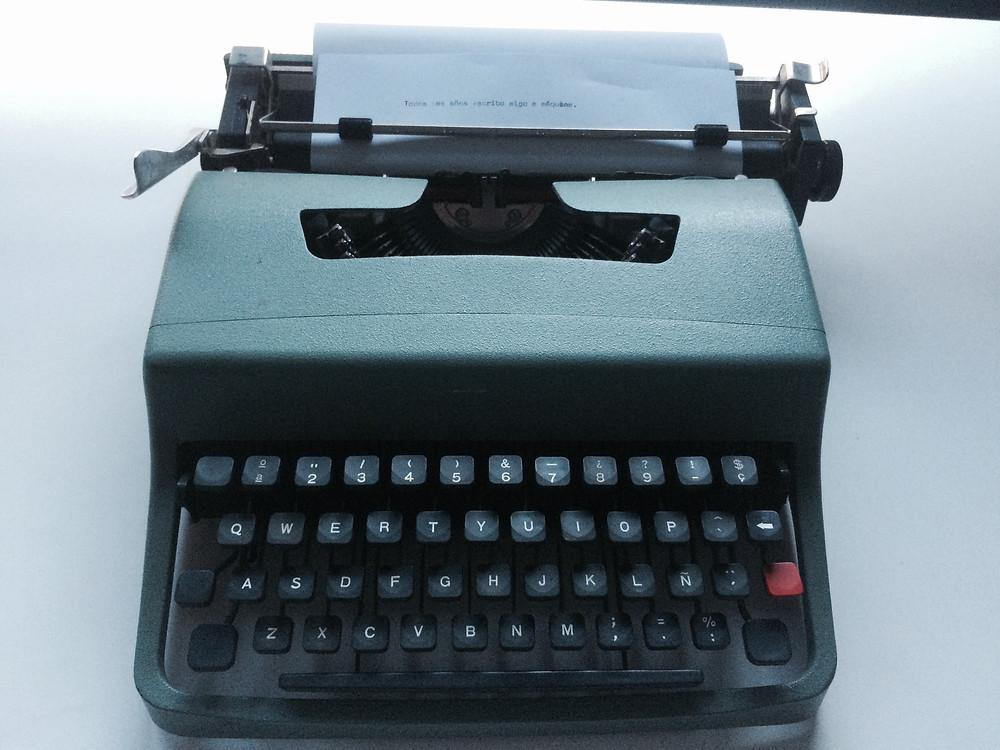 mi máquina de escribir