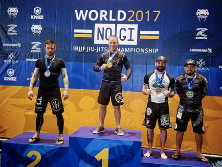 Nick Hawk Takes Silver In His First Brazilian Jiu-Jitsu World's Appearance As A Black Belt