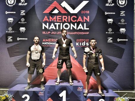 Nick Hawk Double Golds At IBJJF US Nationals