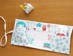 Screenprinted Fabric Doll Cosy
