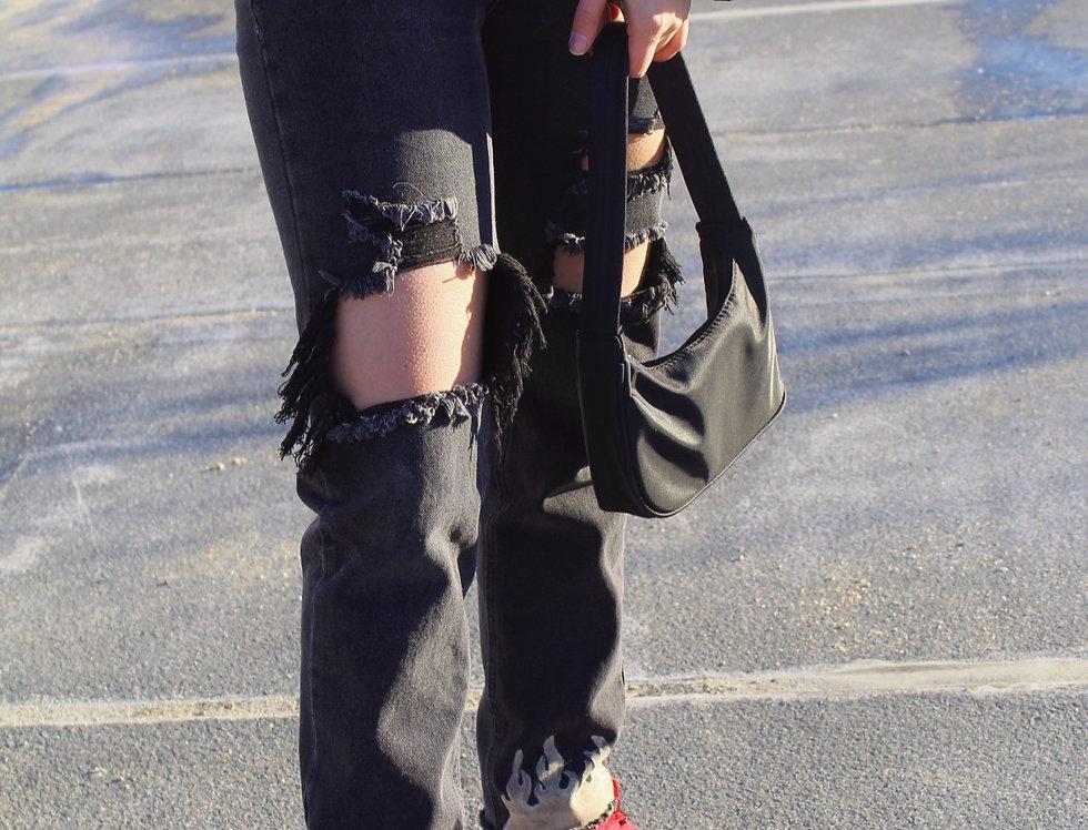 Flamin' Mom Jeans