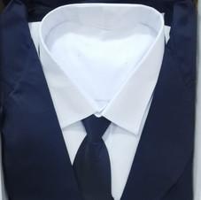 男裝西式壽衣(藍色)