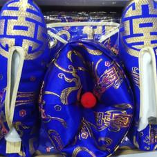 男裝金裝壽衣(藍色)