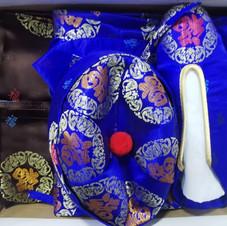 男裝錂鍛壽衣(藍色)