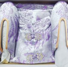 女裝錂鍛壽衣(粉紫色)
