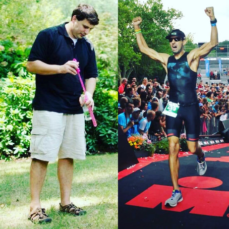 Doctor Endorsement - Dr. Ryan Moran smashed his weight loss goals, then he smashed an IronMan!