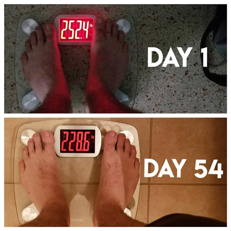 Jay's Results Are A Great Example of Learning Sustainable Eating Habits