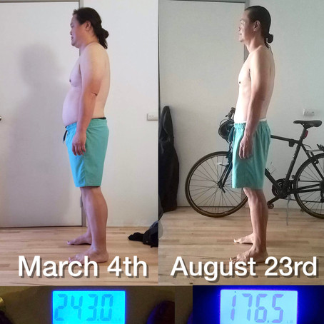 Alan has Lost OVER 66 pounds Pounds in 6 months (And it's staying off!)
