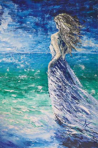 Annette_Taunton_art_painting_beach_girl-
