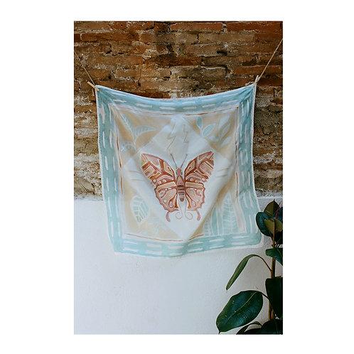 Silk Scarf Butterfly