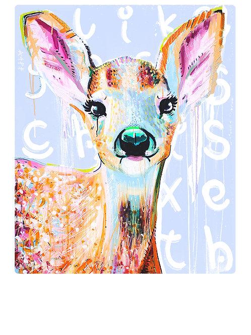 Bambi A4 Print