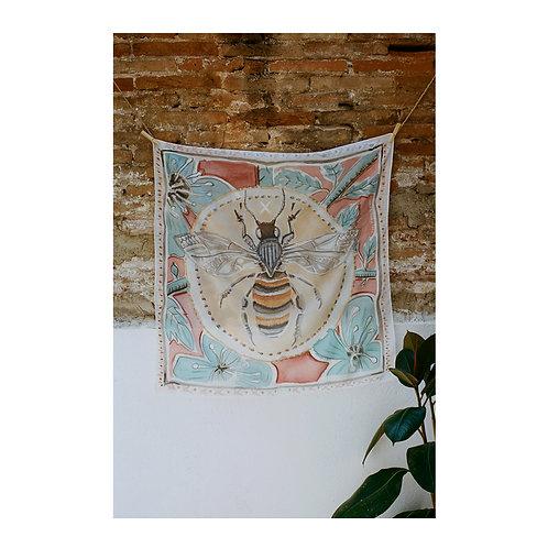 Silk Scarf Bee
