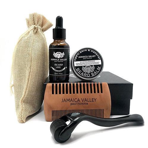Jamaica Valley Beard Kit Gift box