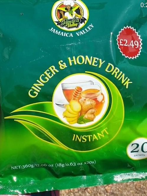 Instant Ginger Honey Drink