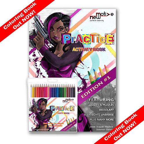 PRACTICE Activity Book w/color pencils - Edition 1