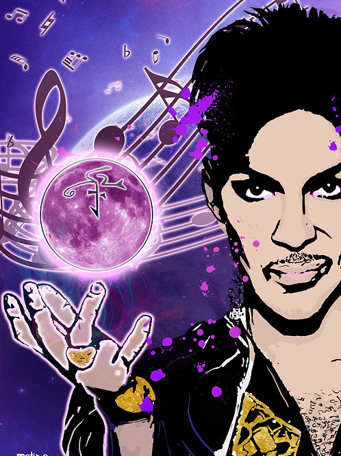 Rest In Power Prince A3 Print