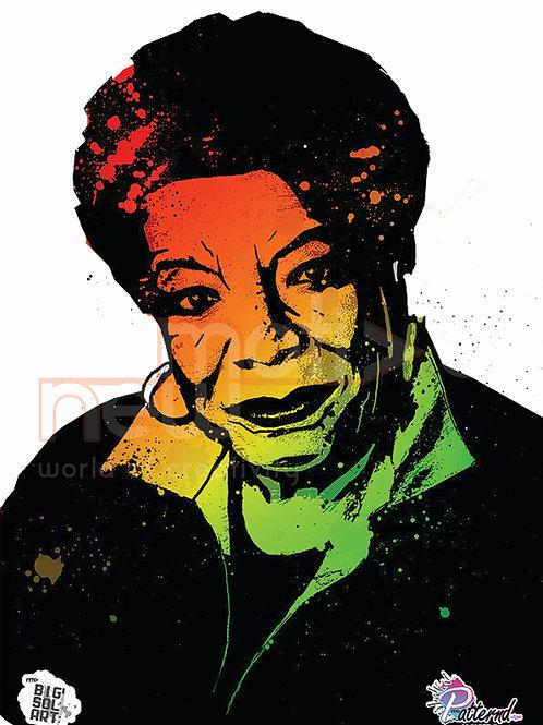 Maya Angelou (A3 Print)
