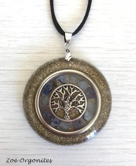 Orgonite Medalha Árvore 1