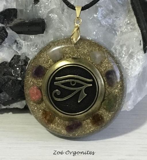 Orgonite Medalha Endel