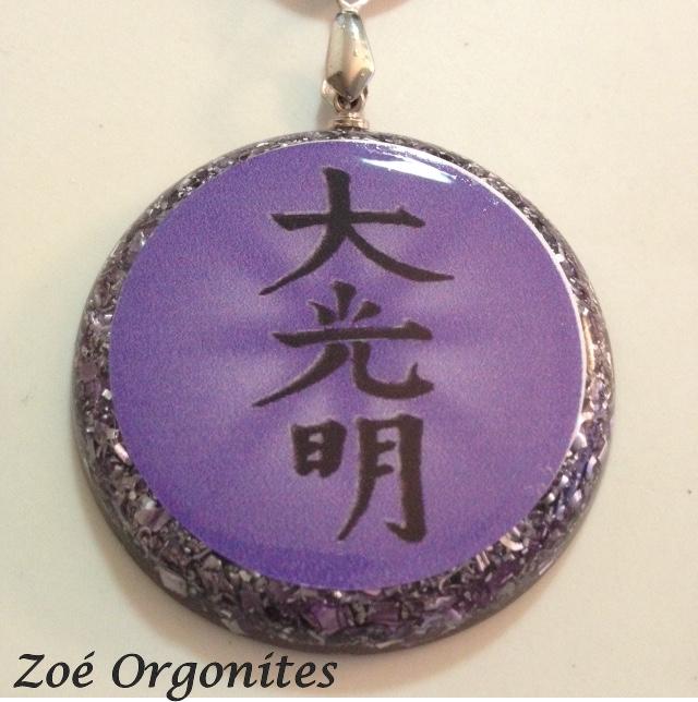 Orgonite Medalha Dai ko Myo