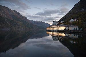 Tyssedal kraftverk, foto Harald Hognerud