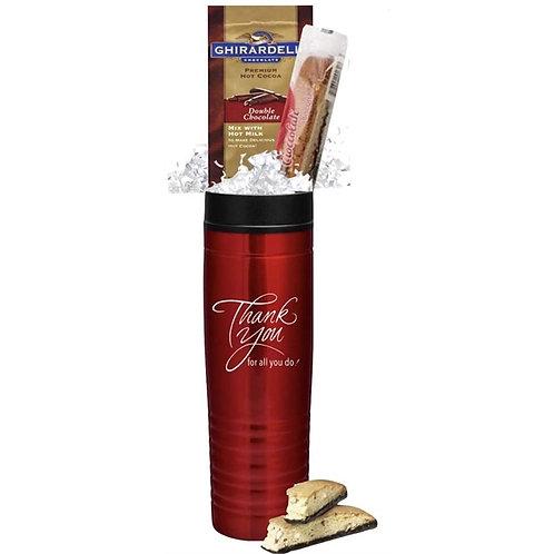 Holiday Ghirardelli Cocoa Gift Mug
