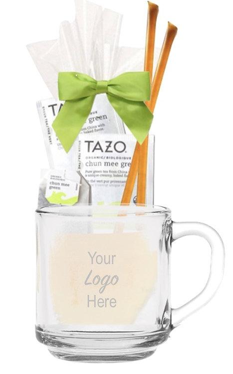 Tea & Honey Glass Gift Mug