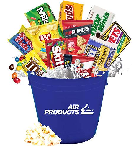Movie Night Candy Bucket