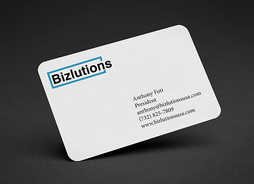Rounded Business Card